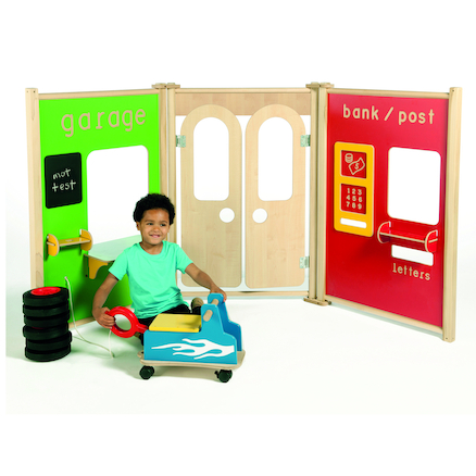 Indoor Role Play Panels Set  large
