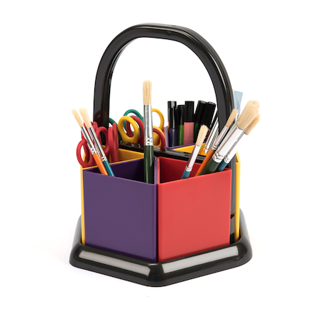 Coloured Handi Holder Art Caddy  large