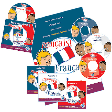 Français! Français! Songs Book and CD  large