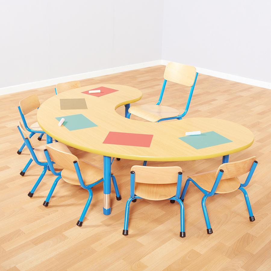 buy copenhagen height adjust classroom table tts. Black Bedroom Furniture Sets. Home Design Ideas