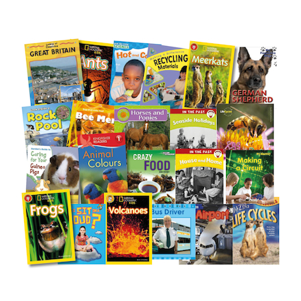 Banded Non Fiction Book Packs  large