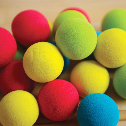 Low Bounce Foam Balls 6cm 20pk  large
