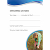 Autism Outdoor Activity Cards A5 50pk  small