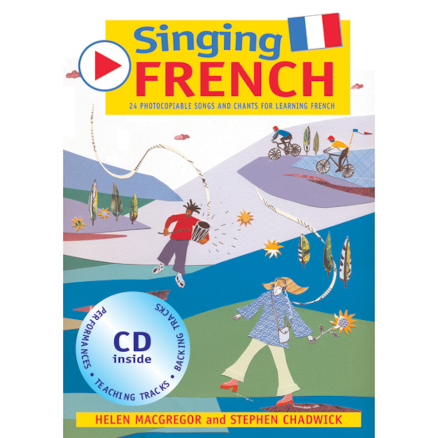 buy singing french songs book and audio cd tts