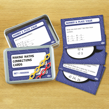 Making Maths Connections Activity Cards  large