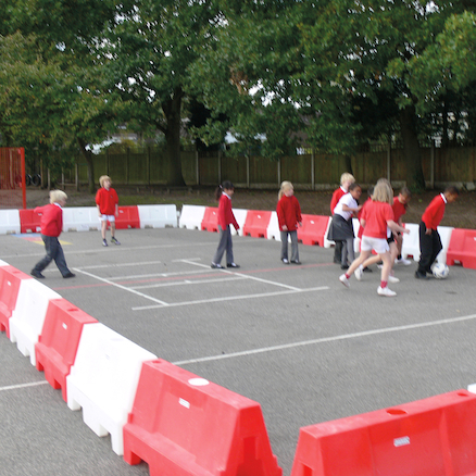 Large PlayZone Barriers  large
