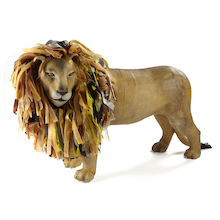 Giant Papier Mache Big Cat Display Figure  medium