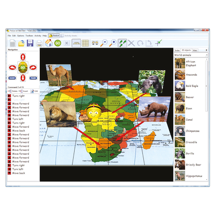 Focus On Bee-Bot® Activities 2 Software  large