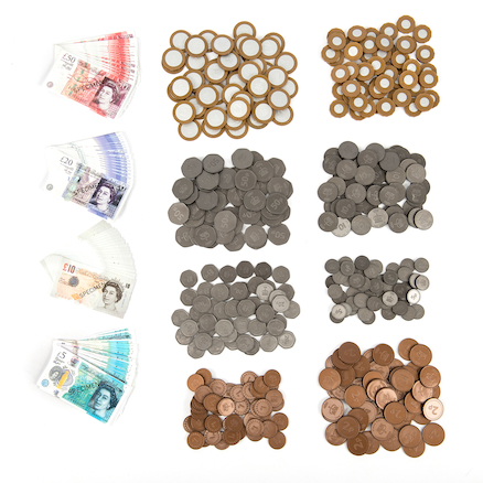 Bulk Value Money (400) Coins & (80) Notes Pack  large