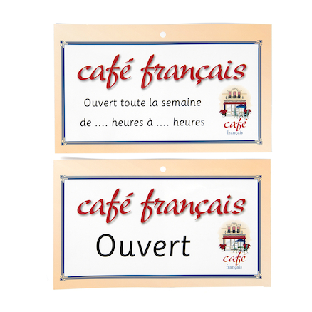 French Café Role Play Pack  large
