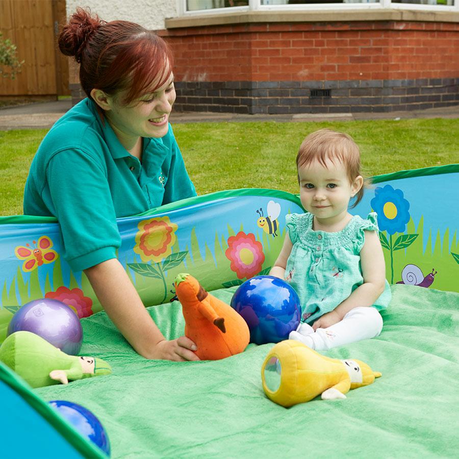 Buy Baby Garden Pop Up Play Area Tts