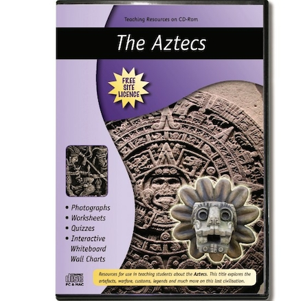 The Aztecs Teaching Resources CD ROM  large
