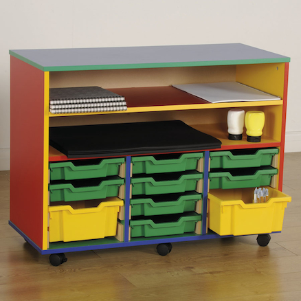 Colour My World Shelving and Tray Storage Unit  large