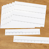 Double Sided Desk Top Number Line  small