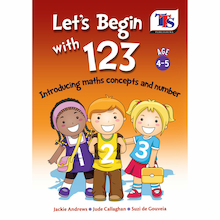 Let's Begin with 123 Number Learning Book  medium