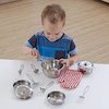 Role Play Stainless Steel Kitchenware Set  small
