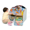 Toddler Mirrored Unit With Trays  small