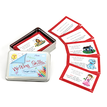 Writing Skills Target Cards  medium