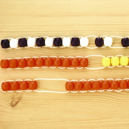 Sum Thing Bicoloured Counting String 10pk  large
