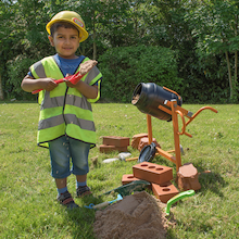 Outdoor Role Play Cement Mixer  medium