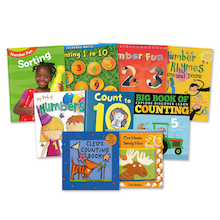 Early Years Counting Number Books 9pk  medium