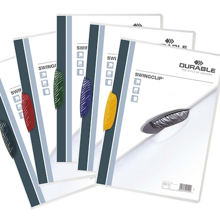Assorted Durable Swingclip® Clip Folder  large