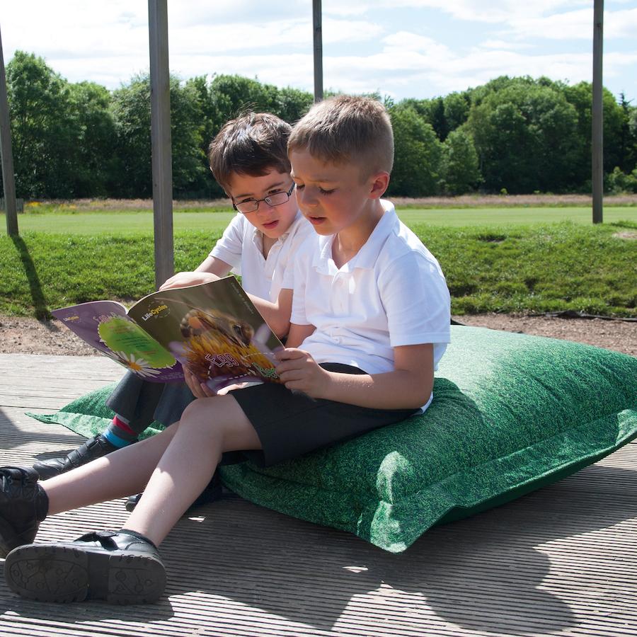 Grass Floor Pillows : Buy Grass Printed Children's Floor Cushion TTS