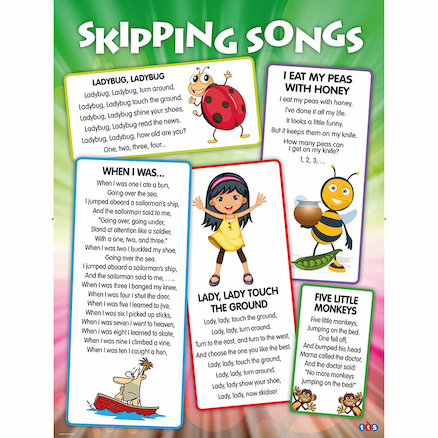 More Skipping Songs Playground Signboard  large