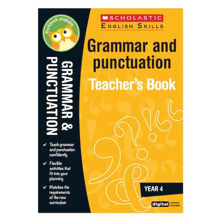 Learning Skills: Grammar and Punctuation Books  large