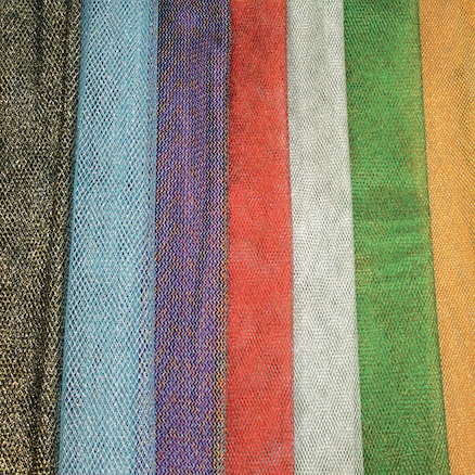 Metallic Mesh Fabric 0.5m 7pk  large