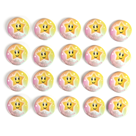 Round Reward Badges 20pk  large