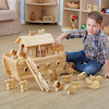 Small World Natural Wooden Noahs Ark  small