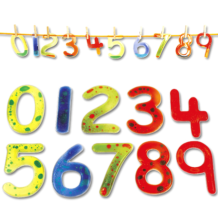 Squidgy Sparkles Numbers Set 0-9  large