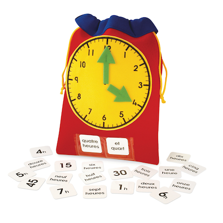 Bag of Time French Vocabulary Fabric Resource  large