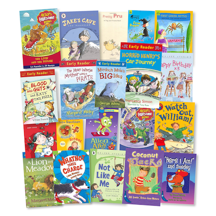 Years 3 and 4 Catch Up Phonics Books 20pk  large