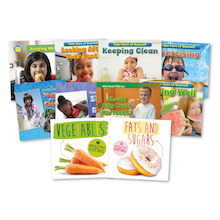 KS1 Healthy Living Books 10pk  medium