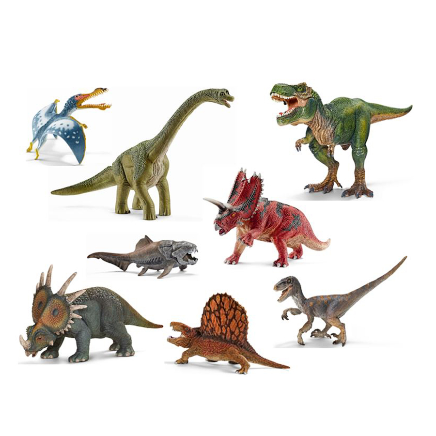 Buy Small World Schleich Dinosaurs Set 8pcs Tts