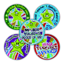 Sparkly Headteachers Reward Stickers 280pk  medium