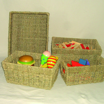 Seagrass Baskets 4pk  large