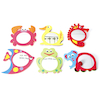Foam Animal Frame Mirrors 6pk  small