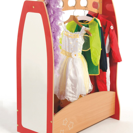 Role Play Wooden Dressing Up Trolley  large
