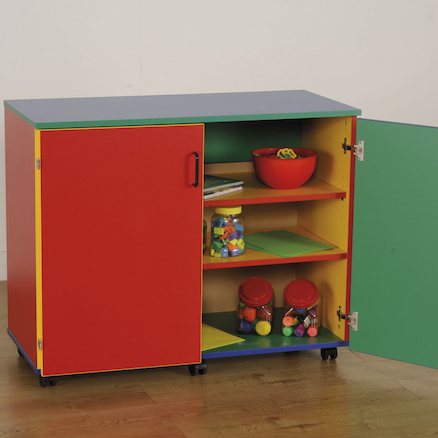 Colour My World Lockable Cupboard  large