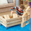 Wooden Indoor Wheely Crate  small