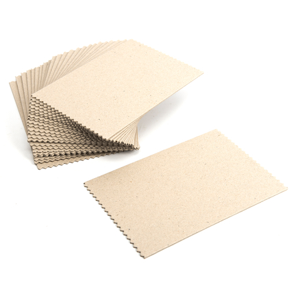 Precut Grey Board Weaving Cards 14 x 22cm 25pk  large