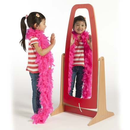 Role Play Wooden Dressing Up Mirror  large