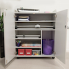 Lockable Workstation Trolley  small