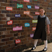 Outdoor Phonics High Frequency Words   medium