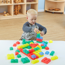 Sillishapes Soft Silicone Bricks  medium