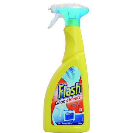 Flash Spray Cleaner with Bleach 10pk 750ml  large