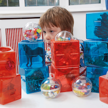 Open Up Building Block Construction Cubes 15pk  medium